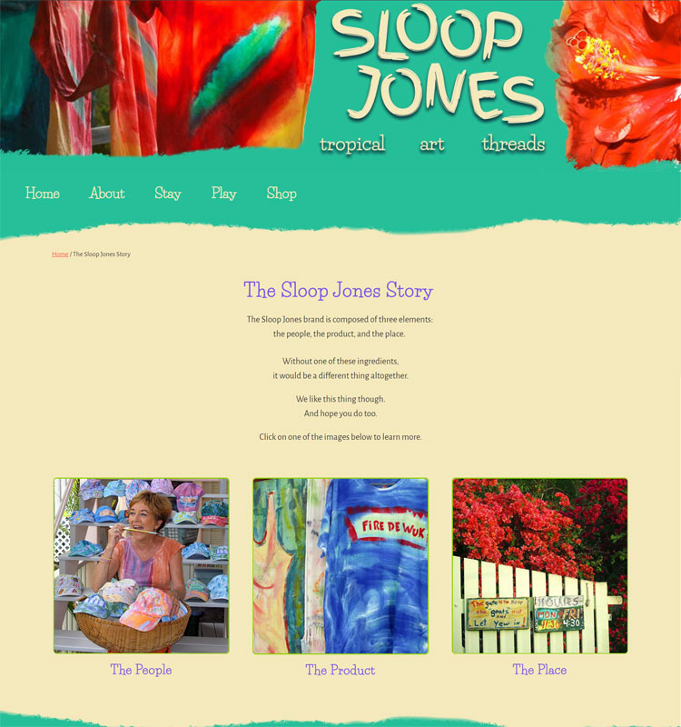 Ashley Ladlie writes about Sloop Jones.